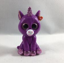 "2018 TY Beanie Boos Mini Boo Series 3 Collectible Figure 2"" Amethyst the Unicorn"