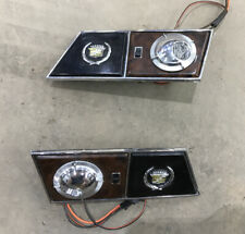 1990 91 92 Cadillac Brougham Rear Map Reading Interior Light Used OEM Lamp Pair