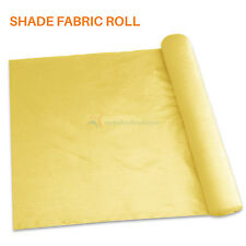 Canary Yellow Customize 8'Ft Fabric Roll Shade Cloth Fence Windscreen Privacy Uv