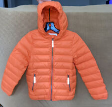 Hanna Andersson Girls Down Puffer Jacket Size 110 (8)