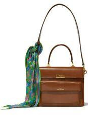 Marc Jacobs Women's The Uptown Leather Satchel Shoulder Bag Handbag in Brown