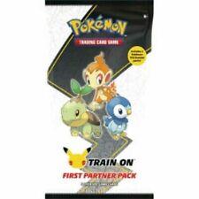 Pokemon primer socio Pack 3 Jumbo Sinnoh +2 intensificadores Sellado