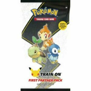 Pokemon First Partner PACK 3 Jumbo SINNOH +2 Boosters SEALED
