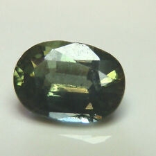 Natural earthmined green sapphire oval gemstone...0.67 carat gem