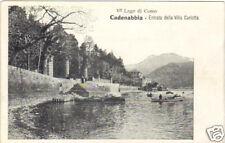 lago di como cadenabbia insolita cartolina antica vedi