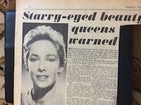 c3-2 ephemera 1962 article vera miles actress liberty valence