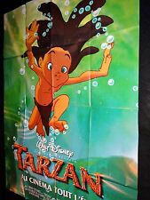 TARZAN  ! affiche cinema  animation bd  disney
