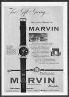 1955 Marvin Flying Dutchman Autodate & Rivoli Watch photo vintage print ad