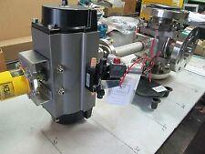 "PBM S/S Cryogenic 3-Way Ball Valve Mod 3 DP39-F302 3"" 300# Flange W/Manual (NEW)"