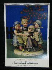 """Goebel Hummel Kalender Calendar 1969, Titel """"Ringelreihen"""""""