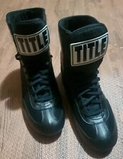 Title Speed Flex Boxing Shoes Size 8