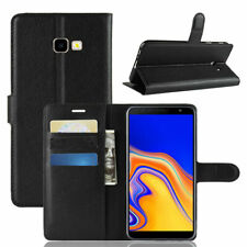 For Samsung J4+ Plus Wallet Leather Case Flip Book Cover Pouch with Card Pocket
