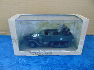 Atlas Editions 6690003 1/43 WWII Multiple Gun Motor Carriage M16 - Titled Plinth