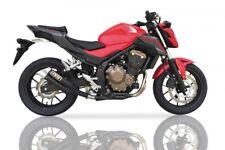 IXIL Hyperlow black XL Edelstahl-Endtopf für Honda CBR 500 R / CB 500 F,16- (Eur