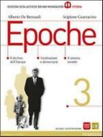 EPOCHE 3, De Bernardi Guarracino, MONDADORI BRUNO, cod. 9788842435853