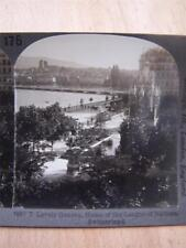 Stereoscope Photograph Geneva  Switzerland
