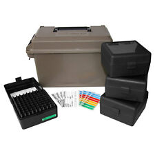 MTM ACC223  223 Ammo Can for 400 rd. Includes 4 each RS-100's Dark Earth