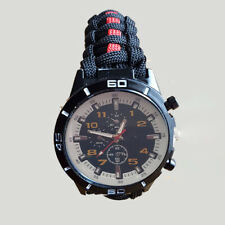 More details for scottish fire and rescue (sfr) paracord watch tactical edge.