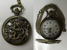 montre à gousset dragon chinois