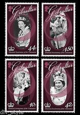 Coronation of Queen Elizabeth II 60th Anniv set of 4 mnh 2013 Gibraltar #1365-8