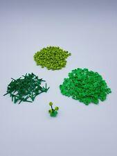 LEGO LOT 50 PLANTES 3 TIGES REF 24855 + 150 FLEURS VERTES  + 50 NÉNUPHARS *NEUF*