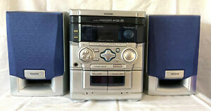 Aiwa NSX-SZ200 Kompaktanlage Stereoanlage 2 Boxen CD Wechsler