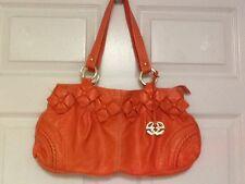 Red By Mark Ecko Handbag Tote Tennessee Orange H8