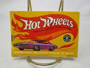 Vintage Hot Wheels  *1967 INTERNATIONAL COLLECTOR'S CATALOG*