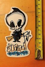 Blind Skateboards Reaper Blade Sketch 90's Vintage Skateboarding Decal Sticker