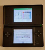 Nintendo DS Lite Handheld Console Only - Cobalt Blue - **GBA SLOT NOT WORKING**