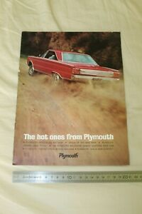 (MB2/F) Brochure Catalogue The hot ones from PLYMOUTH