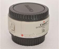 Canon Extender EF 1.4x per teleobiettivi Canon bianchi professionali usato