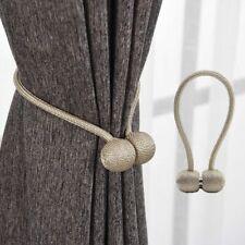 Magnetic Pearl Ball Curtain Tiebacks Backs Holdbacks Buckle Clips Accessories