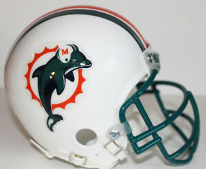 Dan Marino Miami Dolphins 1997 - 2012 Riddell Custom Mini Helmet