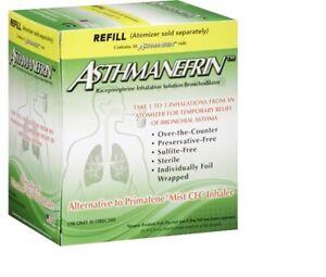 2 Asthma Relief Refill 30 vials Asthmanefrin 11.25 mg Inhalation Solution