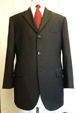 NWT Brooks Brothers Suiting Essentials Black Wool Blazer 40R