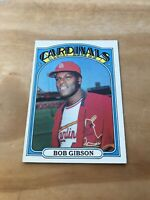 1972 TOPPS #130 BOB GIBSON HOF STL CARDS— PACK FRESH💥*** (wph)