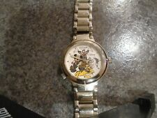 Disney California Adventure Reversible Mickey, Goofy, Donald & Pluto Watch