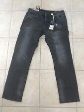 Herren Jeans fritz Grey Used Spike Tom Tompson 33/30 Slim Tapered Slim Fit Denim