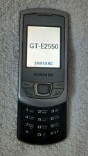 Samsung Monte Slide GT-E2550 - Silver Gray Smartphone