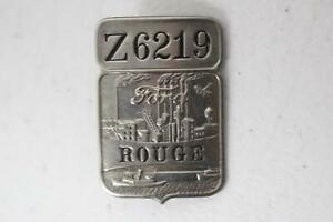 """Vintage Ford Employee Badge, Ford Rouge """"Z"""" Plant (Z6219)"""