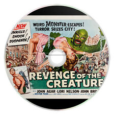 Revenge of the Creature (1955) Sci-Fi, Horror Movie on DVD