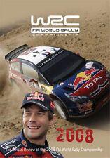 World Rally Championship - Official review 2008 (New DVD) Loeb Hirvonen WRC