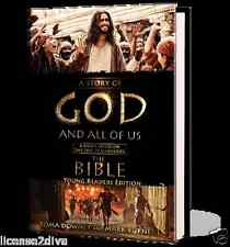 A STORY OF GOD AND ALL OF US! THE BIBLE TV SERIES! YOUNG READERS EDITION! NEW!