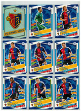 18x FC Basel Team Set  Match Attax Championsleague 16/17