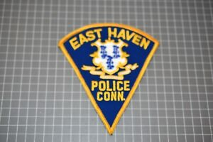 East Haven Connecticut Police Patch (US-Pol)