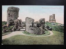 Wales Aberystwyth Castle Ruins - Old Postcard by J & J Gibson