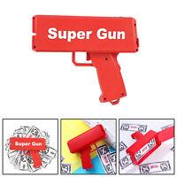 Cash Gun Shooting Cannon Money Gun Launcher Sprinkle Make It Rain Money Toys UK