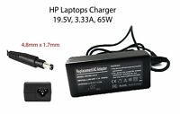 For Hp Charger Ac Replacement Adapter Pavilion Laptops Envy Notebooks 65w