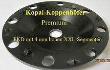 PKD-Schleifteller Schleiftopf mit XXL-Segmenten 180 mm  Diamant-Schleifteller !